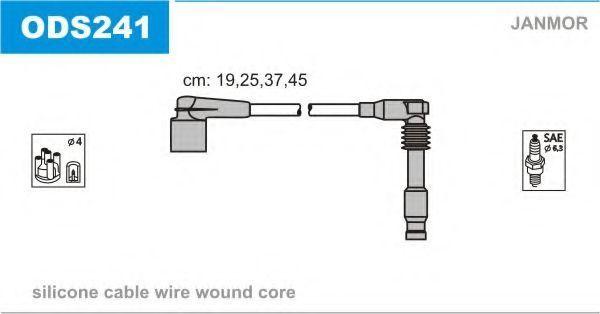 Провода высоковольтные комплект JANMOR ODS241