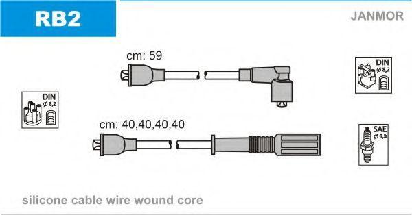 Провода высоковольтные комплект JANMOR RB2