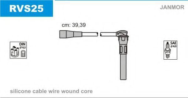 Провода высоковольтные комплект JANMOR RVS25