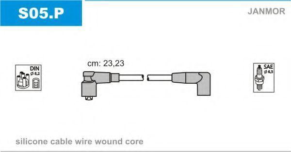 Провода высоковольтные комплект JANMOR S05.P