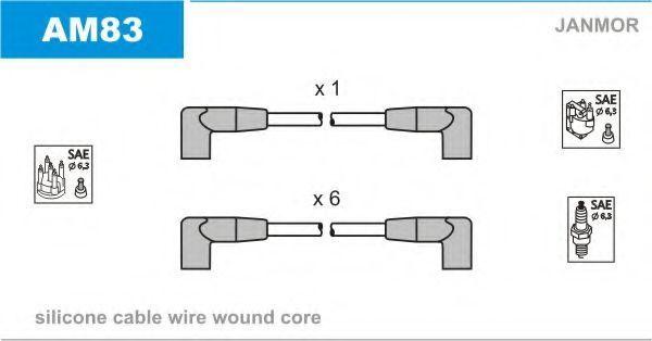 Провода высоковольтные комплект JANMOR AM83