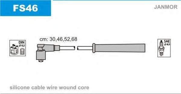 Провода высоковольтные комплект JANMOR FS46