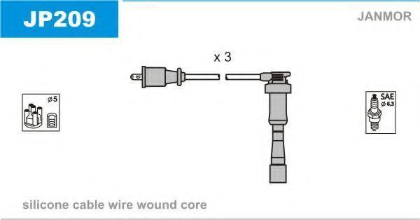 Комплект проводов зажигания JANMOR JP209