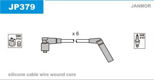 Провода высоковольтные комплект JANMOR JP379