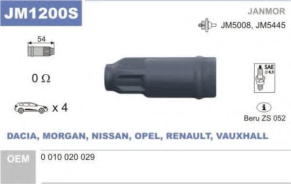 Разъем катушки зажигания JANMOR JM1200S