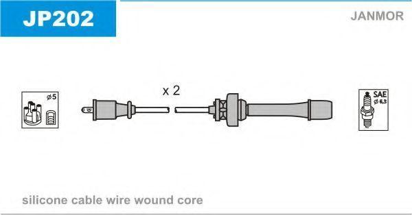 Провода высоковольтные комплект JANMOR JP202