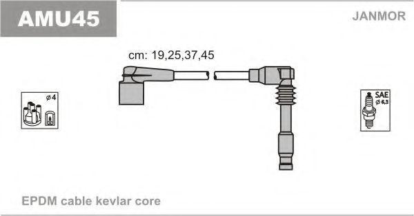 Провод высоковольтный JANMOR AMU45