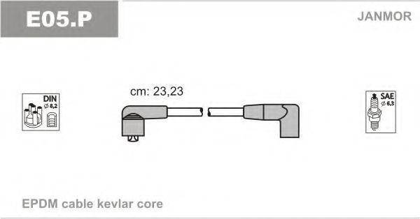 Провода высоковольтные комплект JANMOR E05P