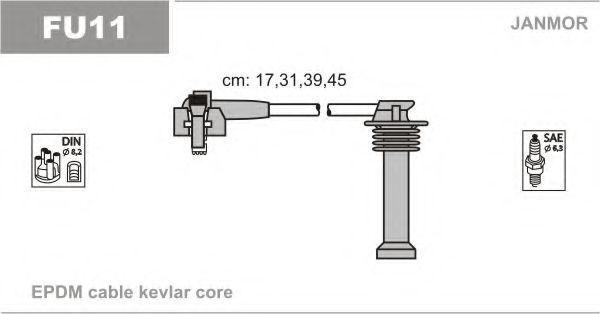 Провода высоковольтные комплект JANMOR FU11