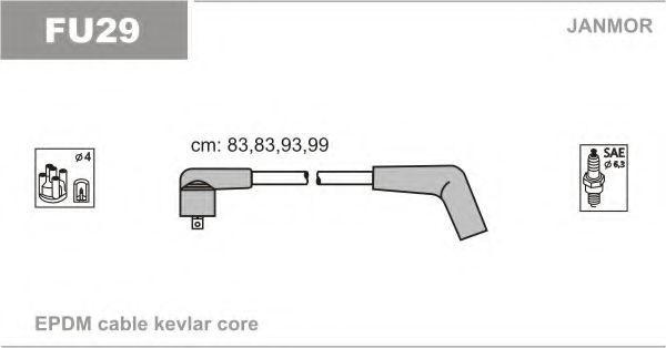 Провода высоковольтные комплект JANMOR FU29