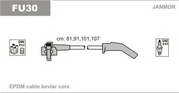 Провод высоковольтный JANMOR FU30