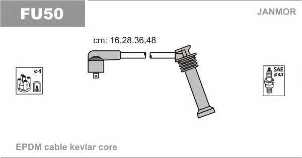 Провода высоковольтные комплект JANMOR FU50