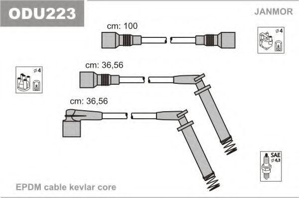 Провода высоковольтные комплект JANMOR ODU223