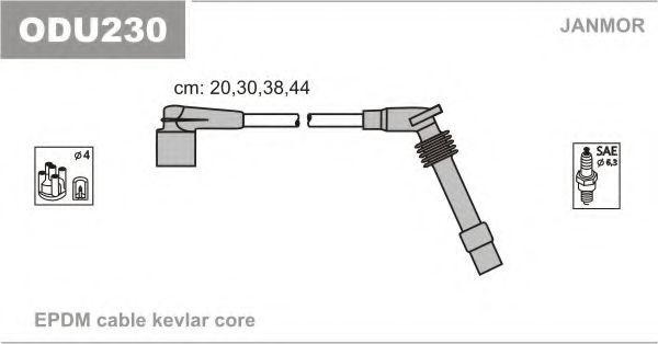 Провода высоковольтные комплект JANMOR ODU230