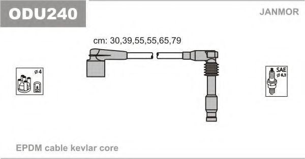 Провода высоковольтные комплект JANMOR ODU240