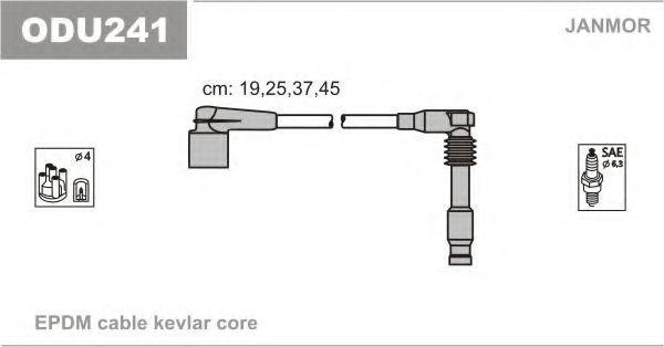 Провода высоковольтные комплект JANMOR ODU241