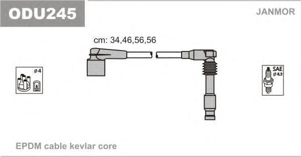 Провода высоковольтные комплект JANMOR ODU245