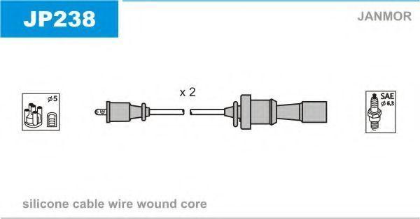 Провода высоковольтные JANMOR JP238