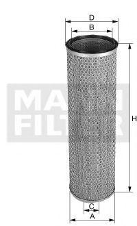 Воздушный фильтр MANN C20457