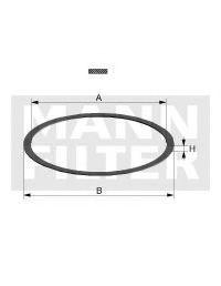 Прокладка, маслянный фильтр MANN DI6507