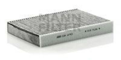 Купить Фильтр воздуха салона угольный MANN CUK2743
