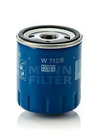 Фильтр масляный MANN W7128