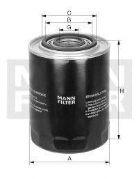 Масляный фильтр MANN W9368