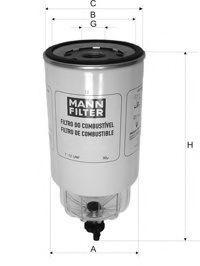 Топливный фильтр MANN WK10604