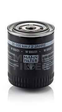 Фильтр масляный MANN W93021