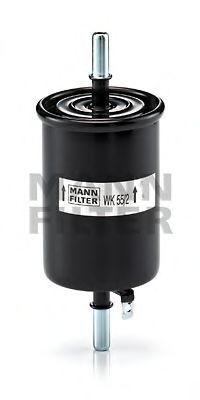 Фильтр топливный MANN WK552