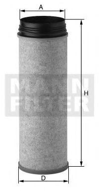 Фильтр добавочного воздуха MANN CF1651