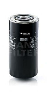 Фильтр масляный MANN W1170/15