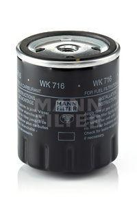 Фильтр топливный MANN WK716