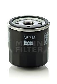 Фильтр масляный MANN W712