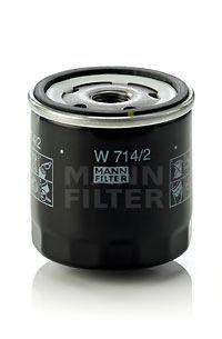 Фильтр масляный MANN W 714/2
