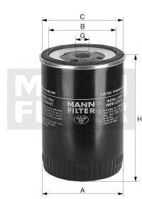 Фильтр топливный MANN WK943/1