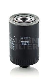 Фильтр масляный высокого давления MANN W 940/5