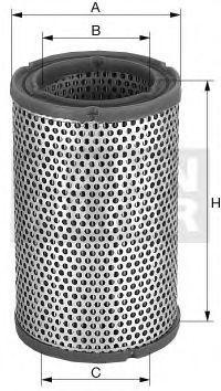 Воздушный фильтр MANN C1253
