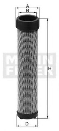 Фильтр добавочного воздуха MANN CF933