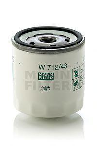 Фильтр масляный MANN W71243