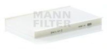 Фильтр салона MANN CU 2629