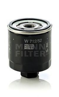 Фильтр масляный MANN W71252