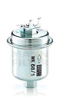 Фильтр топливный MANN WK681X