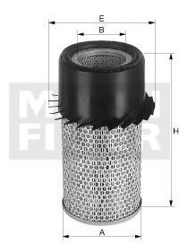 Купить Фильтр воздушный MANN C16190X