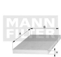 Купить Фильтр воздуха салона угольный MANN CUK24003