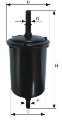 Топливный фильтр MANN WK7124