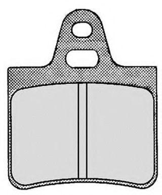 Колодки тормозные RAICAM RA01721