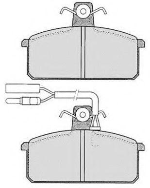 Колодки тормозные RAICAM RA01911
