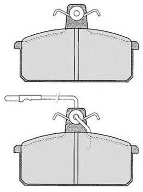 Колодки тормозные RAICAM RA01912