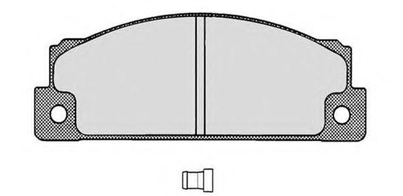 Колодки тормозные RAICAM RA02170